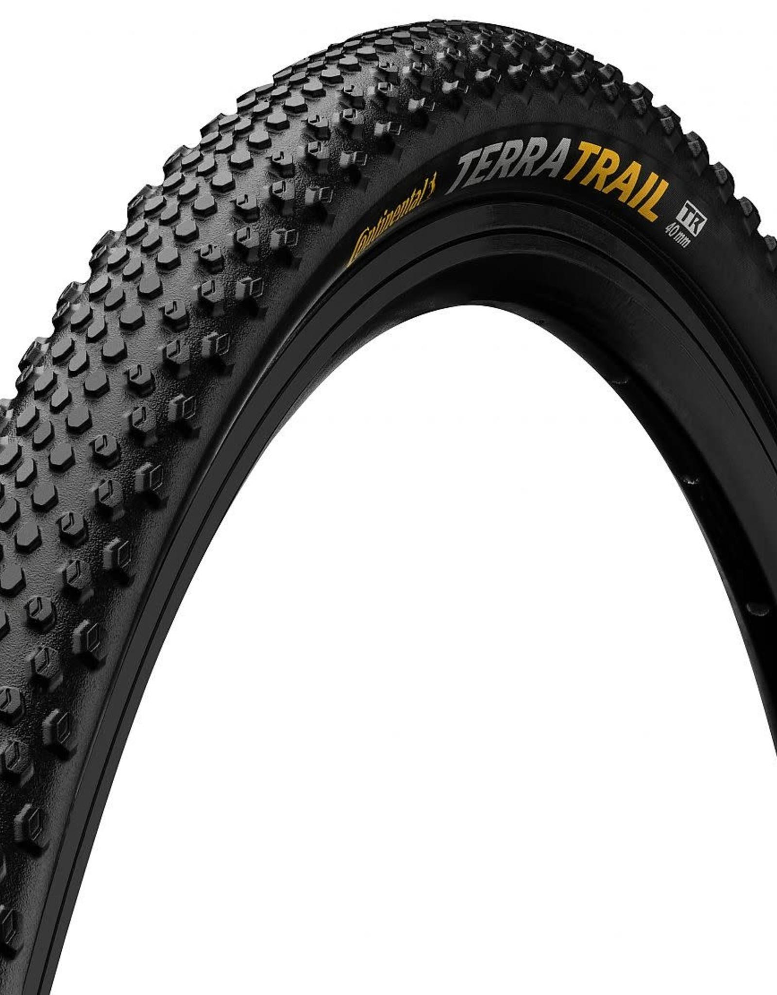 Continental - Tire - TERRA TRAIL 700x40c, ProTection TR + Black Chili