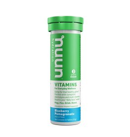 Nuun, Vitamins, Tablets, Blueberry Pomegranate