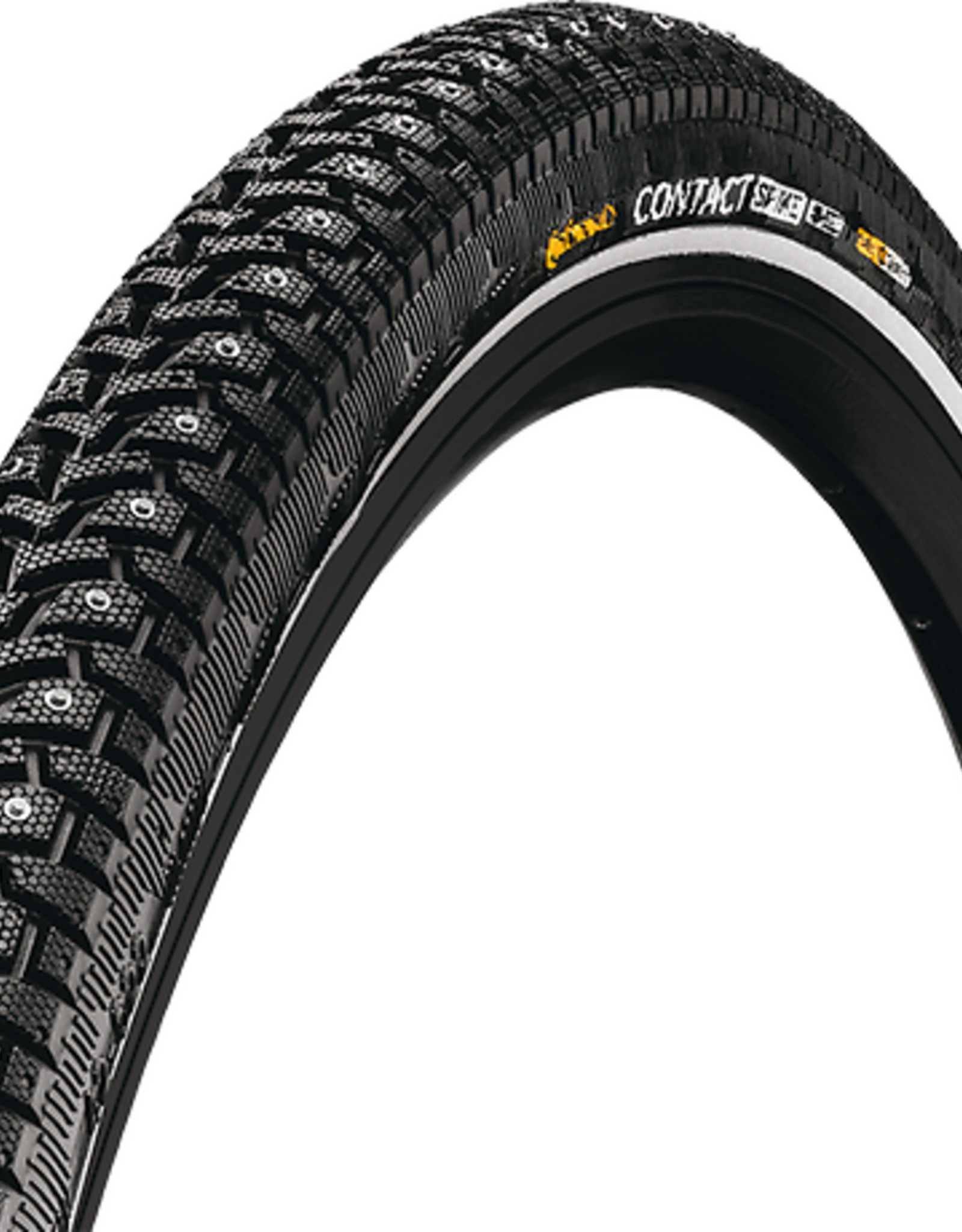 Continental - Contact Spike - 700 x 42 Black 240 spikes, Wire