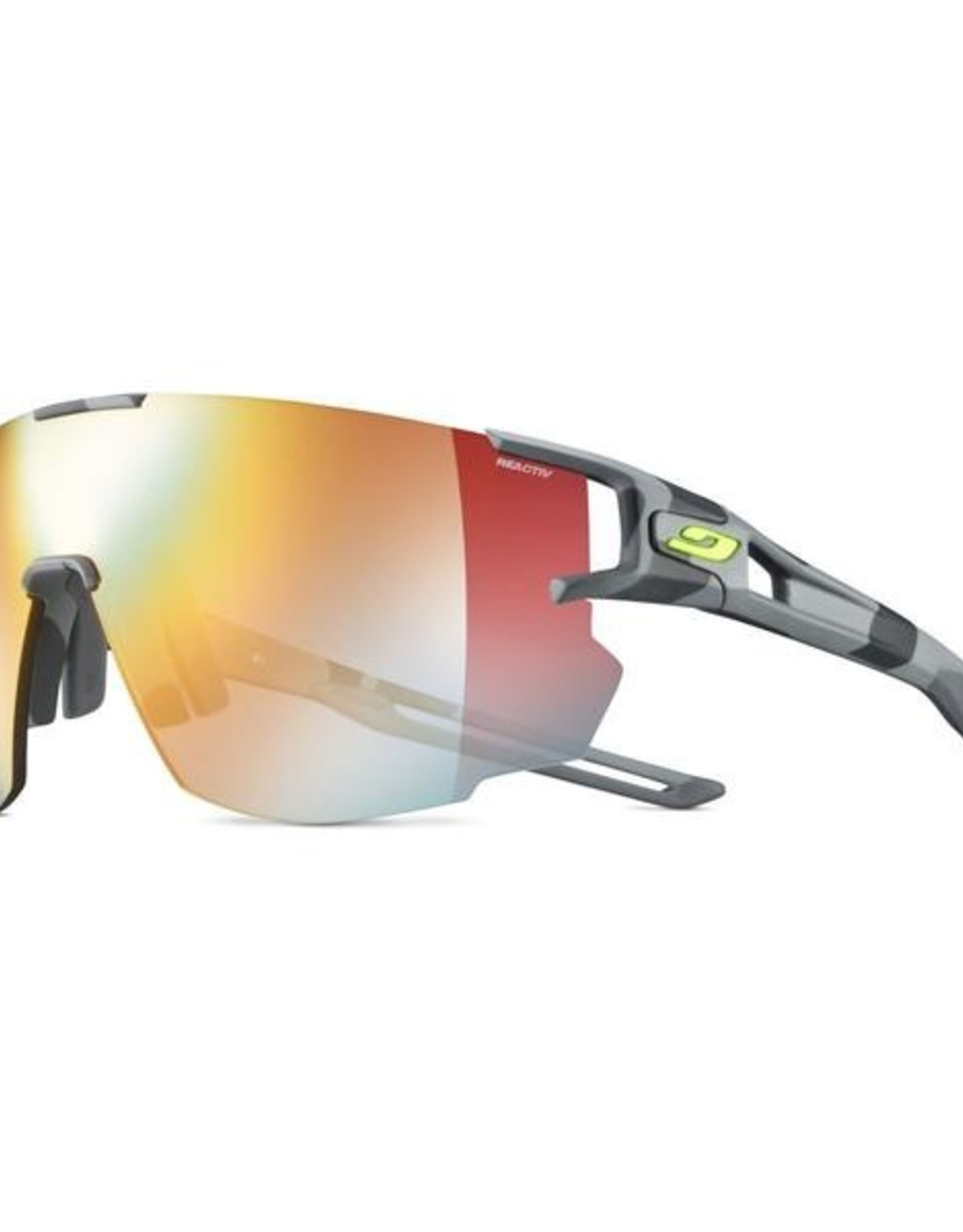 Julbo AeroSpeed Grey Camo Yellow/Yellow Brown Multi-Layer