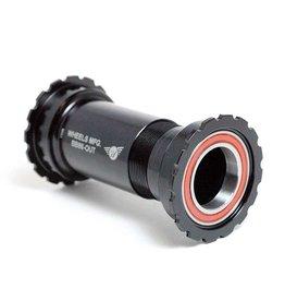 Wheels Manufacturing, PressFit 86/92 ACB, Shimano, BB Shell: 86.5mm, Dia.: 41mm, Axle: 24mm, ACB, Black, BB86-OUT-AC