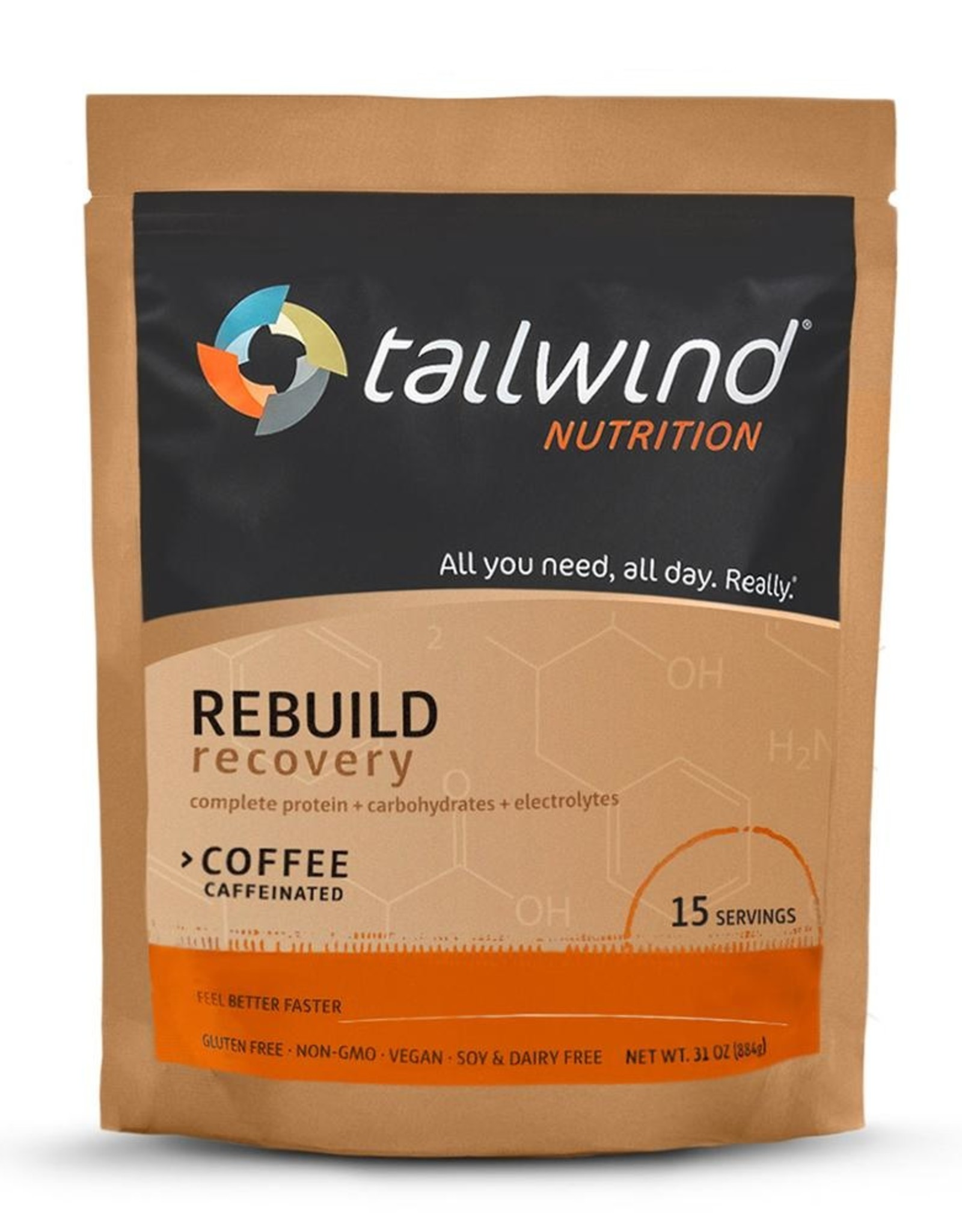 Tailwind Tailwind Rebuild Recovery Coffee 15-serving bag