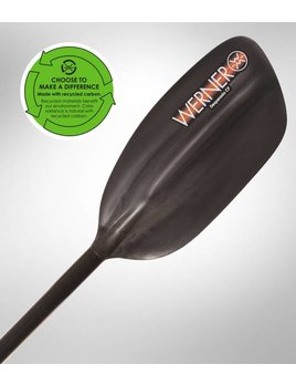 Werner Desperado CF 1pc Straight Paddle