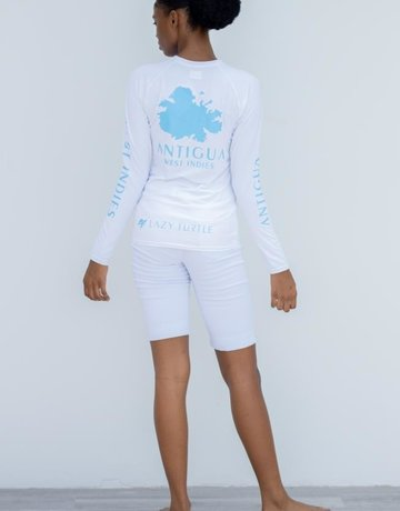 LAZY TURTLE 221 RASH GUARD ANTIGUA WOMEN'S LAZY TURTLE