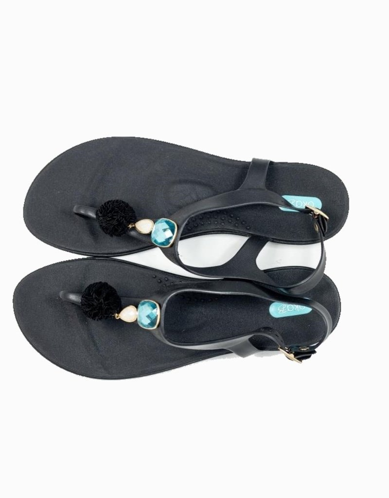 OKAB ELIZA LICORICE SANDALS OKA B