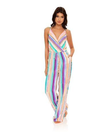 LULI FAMA L653L81 SWIMWEAR LULI FAMA LADIES JUMPSUIT