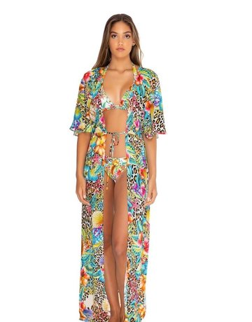 LULI FAMA L657L77 SWIMWEAR LULI FAMA LADIES COVER UP