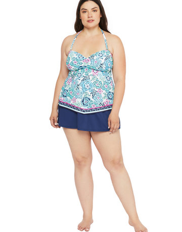 24th & OCEAN TF0BN81W SWIMWEAR 24TH & OCEAN LADIES TANKINI
