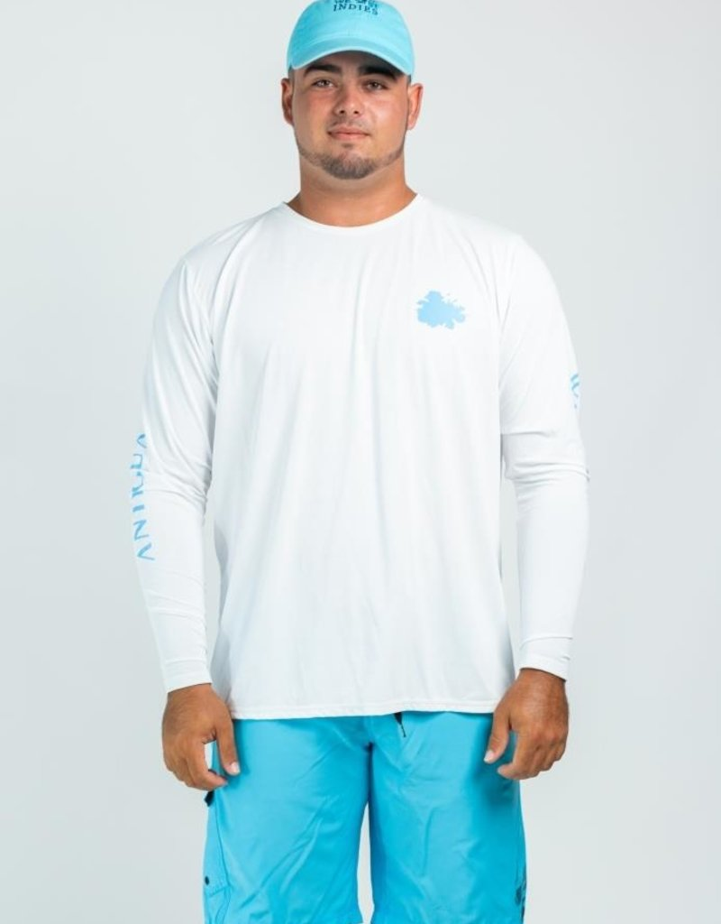 LAZY TURTLE 120 RASH GUARD ANTIGUA MEN'S LAZY TURTLE