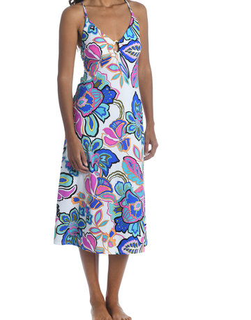 TRINA TURK TT1TJ35 DRESS LONG TRINA  TURK