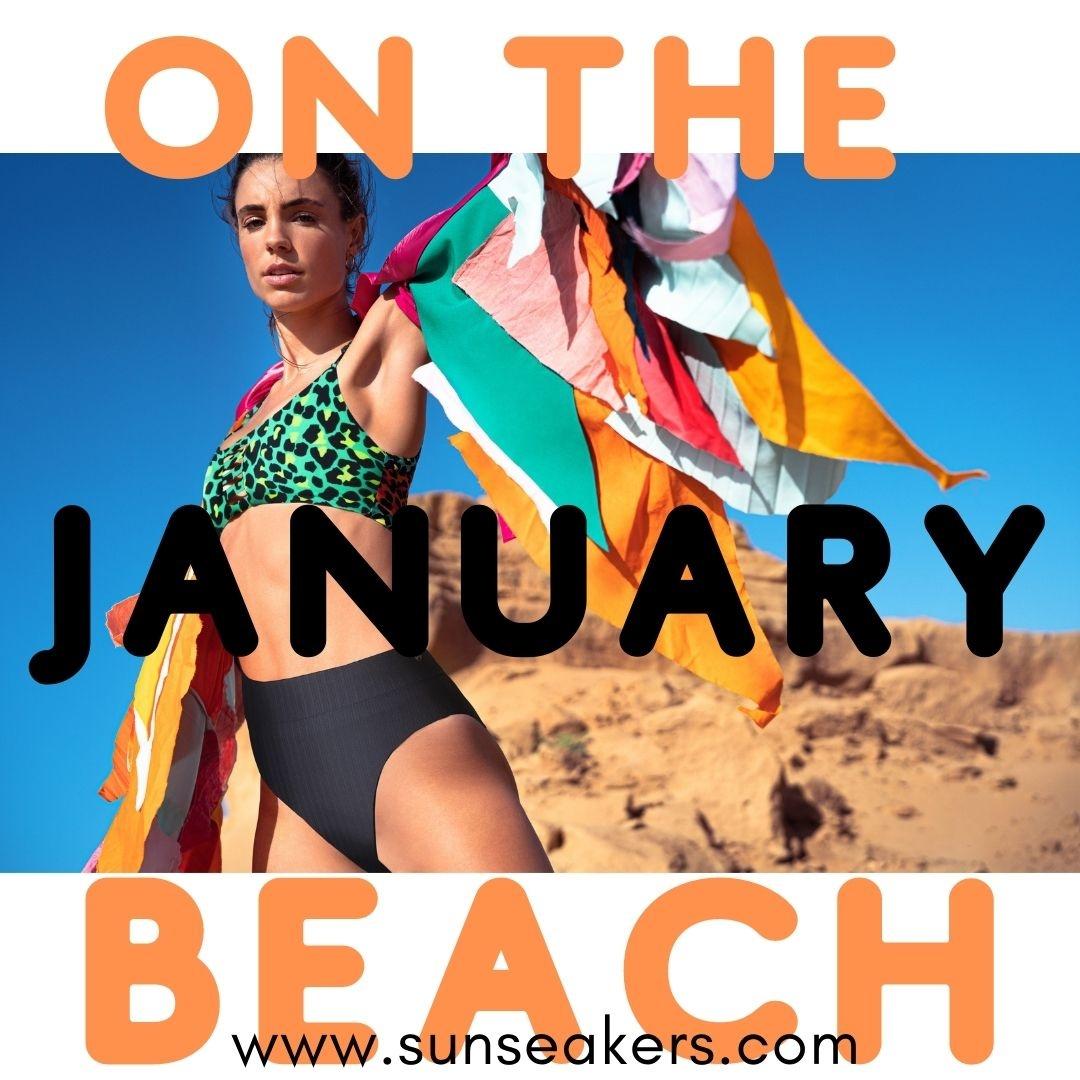 January On The Beach