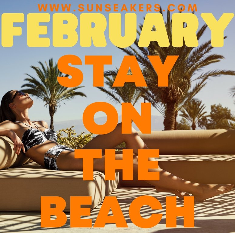 Stay on the beach