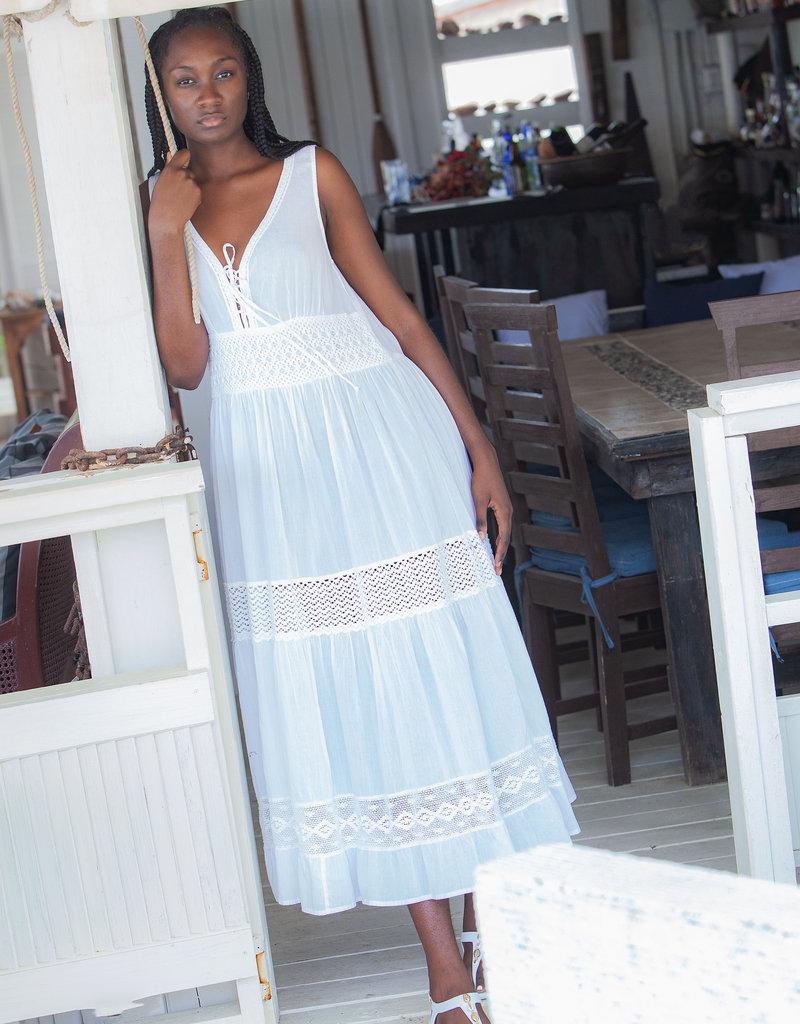BLEU RBBZ21184 SWIMWEAR LADIES BLEU DRESS