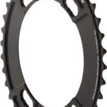 Rotor Q-Ring 110 x 4 Asymmetric BCD Oval Chainring: 38t inner