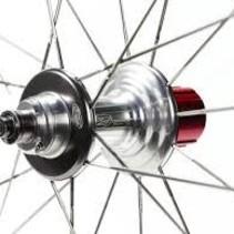Zipp 404 Firecrest 20h Blk/Blk Rear Wheel w/ Shimano/SRAM 10 speed 188 Falcon Grey hub
