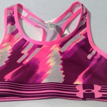 Under Armour Girl's Printed Mesh Bra