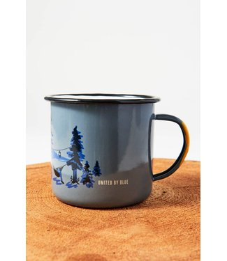 United By Blue Twilight & Goodnight Enamel Mug