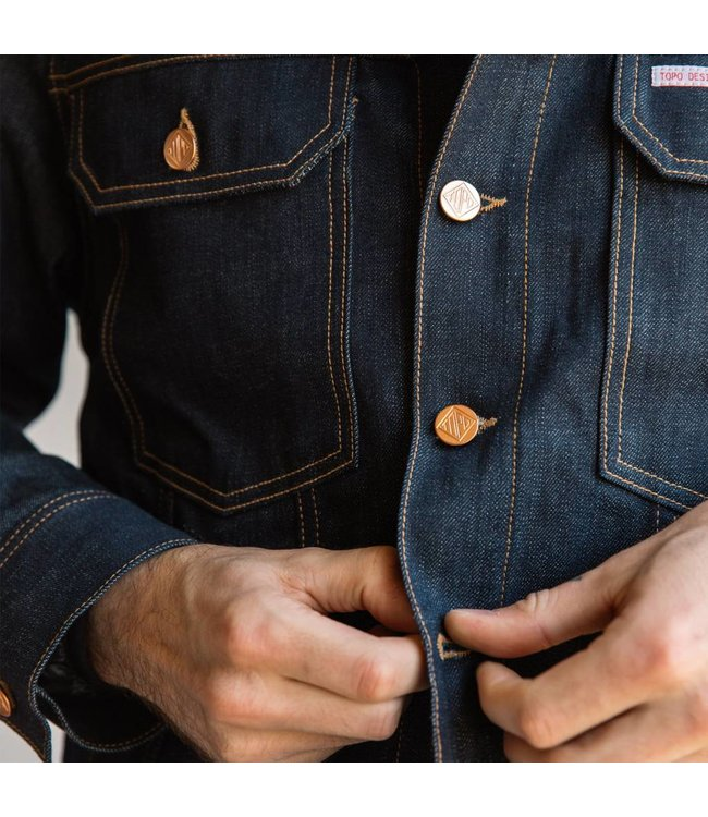 Topo Designs Trucker Denim Jacket