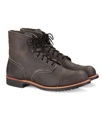 Red Wing Shoes Iron Ranger - Charcoal