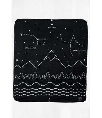 "United By Blue Polaris Wool Blanket - 60""x70"""
