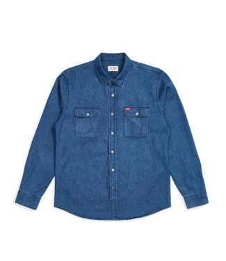 Brixton Bowery Denim LTD Coors Flannel