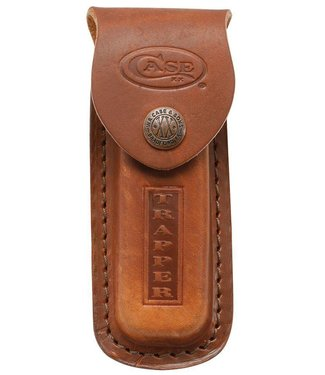 Case Trapper Leather Knife Sheath