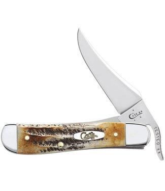 6.5 Bone Stag Russ Lock Knife