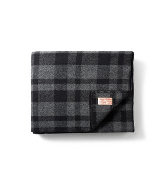 Filson Mackinaw Wool Blanket - Grey/Black