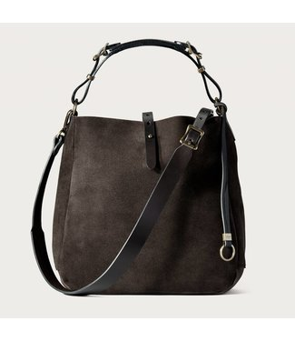 Filson Rugged Suede Hobo Bag