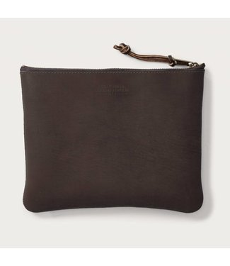 Filson Rugged Suede Pouch - Large