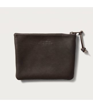 Filson Rugged Suede Pouch - Medium