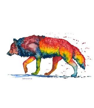 Rainbow Print 9 x 12