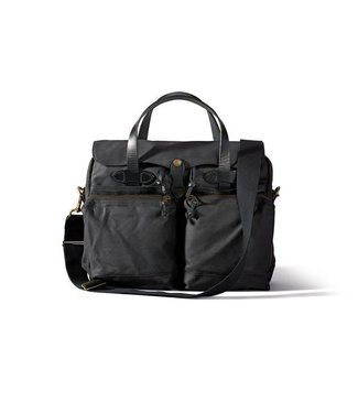 Filson 24- Hour Tin Briefcase - Black