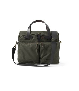 Filson 24- Hour Tin Briefcase - Otter Green