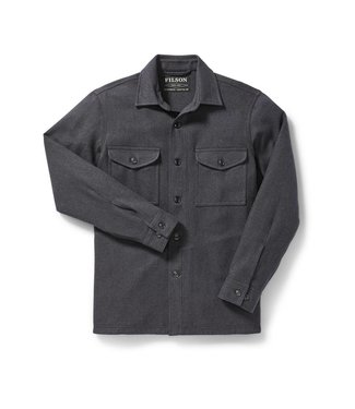 Filson Deer Island Jac-Shirt -  Heather Navy