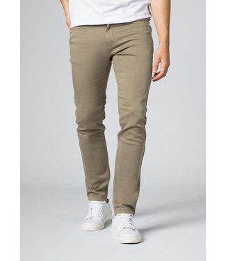 Du/Er No Sweat Pant Slim - Light Khaki