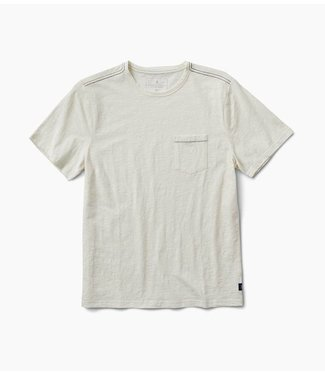 Roark Revival Well Worn S/S Knit - White
