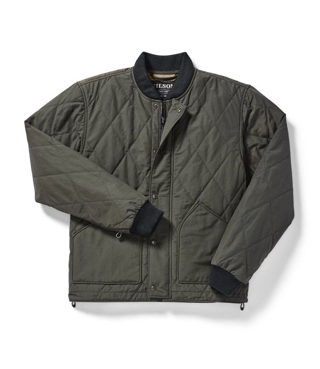 40ed06aff20ce Filson | Men's Quilted Pack Jacket - Otter Green - Montana Supply