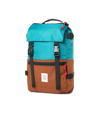 Topo Designs Rover Pack - Turquoise/ Clay