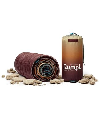 Rumpl Original Printed Puffy Blanket - Deep Playa Fade
