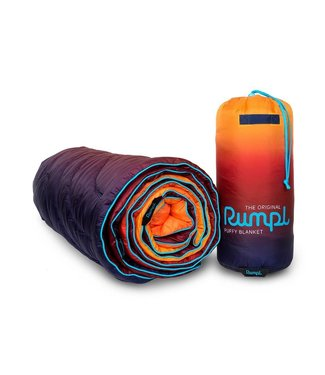 Rumpl Original Printed Puffy Blanket - Pyro Fade