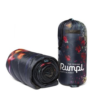 Rumpl Original Printed Puffy Blanket - Dark Floral