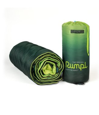 Rumpl Original Printed Puffy Blanket - Forest Fade