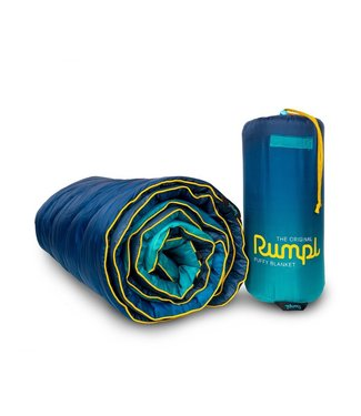 Rumpl Original Printed Puffy Blanket - Ocean Fade