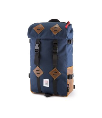 Topo Designs Klettersack - Navy / Leather