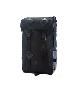 Topo Designs Klettersack - Ballistic Black Leather