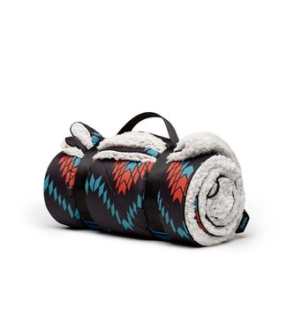 Rumpl Sherpa Printed Puffy Blanket  - Pathfinder