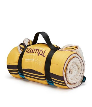 Rumpl Sherpa Printed Puffy Blanket  - Lomoro Red Sunset