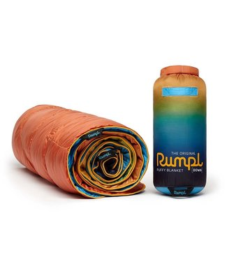 Rumpl Printed Down Puffy Blanket - Baja Fade
