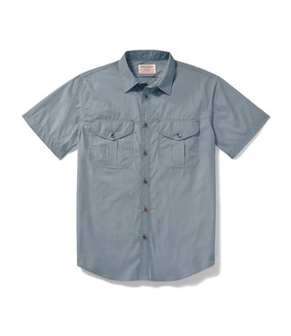 Filson SS Feather Cloth Shirt - Smoke Blue